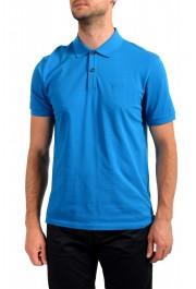 "Hugo Boss Men's ""Pallas"" Blue Short Sleeve Polo Shirt"