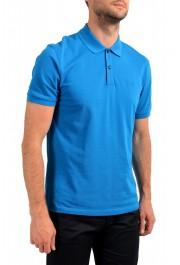 "Hugo Boss Men's ""Pallas"" Blue Short Sleeve Polo Shirt: Picture 2"