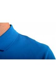 "Hugo Boss Men's ""Pallas"" Blue Short Sleeve Polo Shirt: Picture 4"