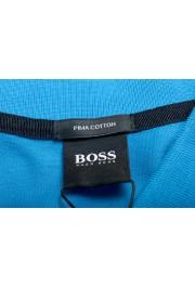 "Hugo Boss Men's ""Pallas"" Blue Short Sleeve Polo Shirt: Picture 5"