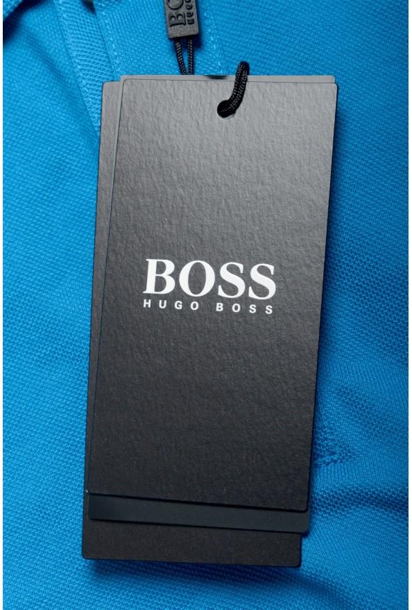 "Hugo Boss Men's ""Pallas"" Blue Short Sleeve Polo Shirt: Picture 6"