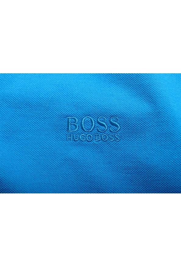 "Hugo Boss Men's ""Pallas"" Blue Short Sleeve Polo Shirt: Picture 8"