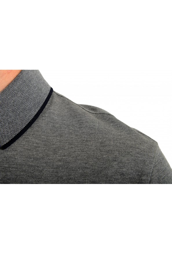 """Hugo Boss Men's """"Prout 26"""" Gray Short Sleeve Polo Shirt: Picture 4"""