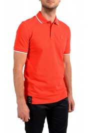 """Hugo Boss Men's """"Parley 116"""" Bright Red Short Sleeve Polo Shirt : Picture 2"""