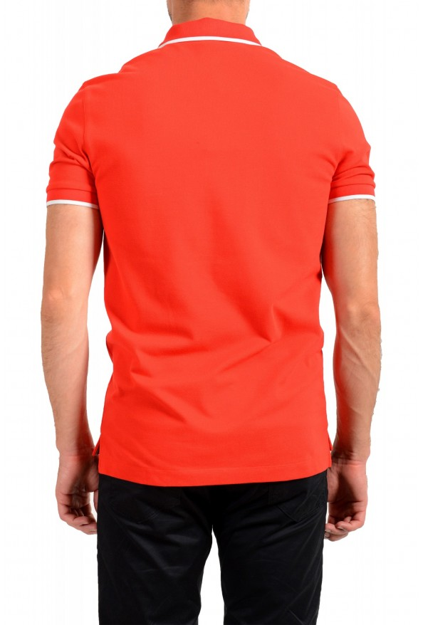 """Hugo Boss Men's """"Parley 116"""" Bright Red Short Sleeve Polo Shirt : Picture 3"""