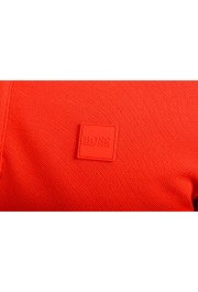 """Hugo Boss Men's """"Parley 116"""" Bright Red Short Sleeve Polo Shirt : Picture 4"""