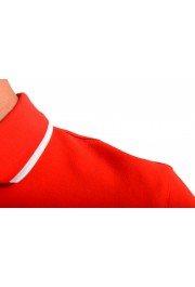 """Hugo Boss Men's """"Parley 116"""" Bright Red Short Sleeve Polo Shirt : Picture 5"""
