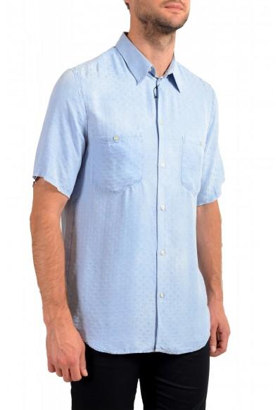 Dolce& Gabbana D&G Men's 100%Silk Short Sleeve Button Down Shirt : Picture 2
