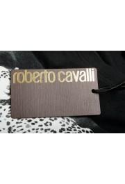 Roberto Cavalli Men's Black Graphic Print Crewneck T-Shirt: Picture 6