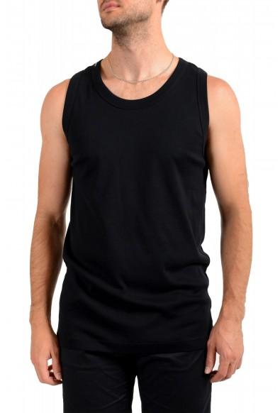 Dolce & Gabbana Men's Black Stretch Tank Top