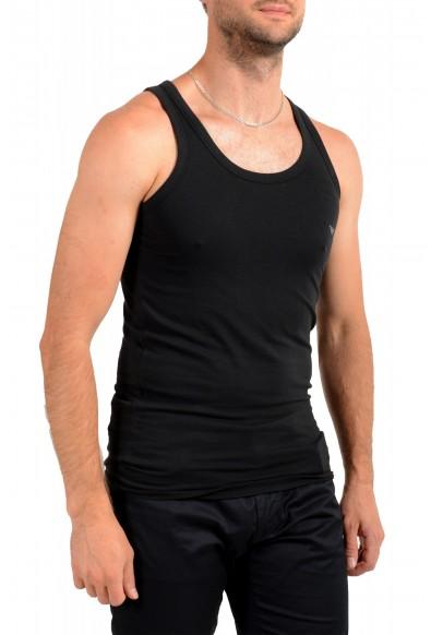 Emporio Armani Underwear Men's Black Stretch Tank Top: Picture 2