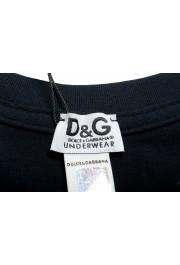 Dolce & Gabbana D&G Men's Black Stretch Tank Top: Picture 4