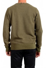 Moncler Men's Olive Green Wool Crewneck Sweatshirt : Picture 3