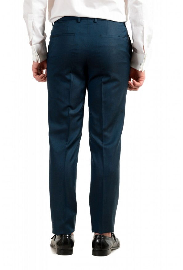 """Hugo Boss Men's """"Astian/Hets184"""" Green Extra Slim Fit Silk Wool Two Button Suit: Picture 10"""
