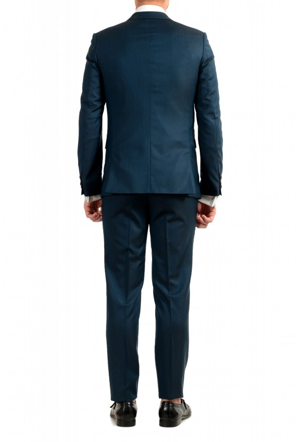 """Hugo Boss Men's """"Astian/Hets184"""" Green Extra Slim Fit Silk Wool Two Button Suit: Picture 3"""