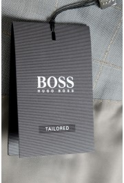 """Hugo Boss Men's """"T-Harvers4/Glover3"""" Slim Fit Silk Wool Plaid Two Button Suit: Picture 13"""