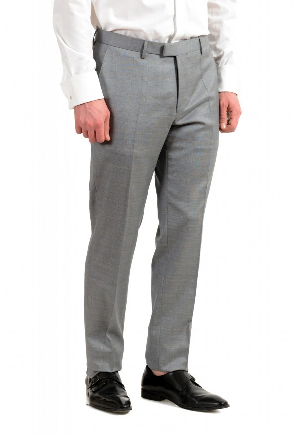 """Hugo Boss Men's """"T-Harvers4/Glover3"""" Slim Fit Silk Wool Plaid Two Button Suit: Picture 9"""