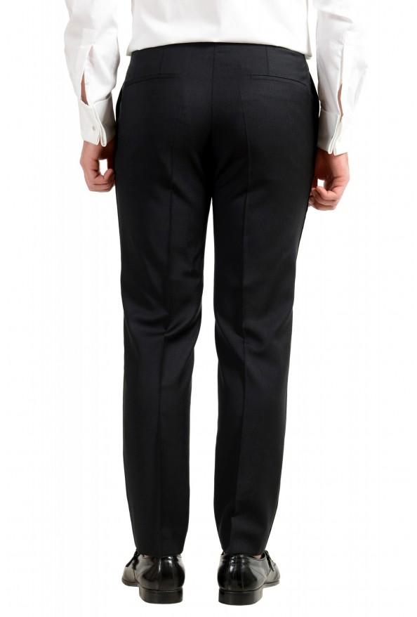 "Hugo Boss Men's ""Henry1/Glow1"" Slim Fit 100% Wool Black Tuxedo Suit: Picture 10"