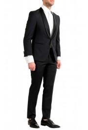 "Hugo Boss Men's ""Henry1/Glow1"" Slim Fit 100% Wool Black Tuxedo Suit: Picture 2"