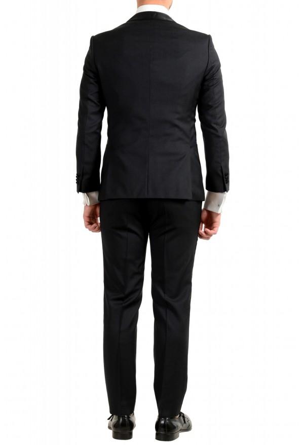 "Hugo Boss Men's ""Henry1/Glow1"" Slim Fit 100% Wool Black Tuxedo Suit: Picture 3"