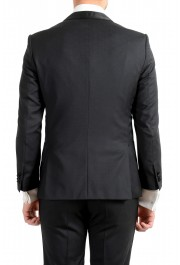 "Hugo Boss Men's ""Henry1/Glow1"" Slim Fit 100% Wool Black Tuxedo Suit: Picture 6"