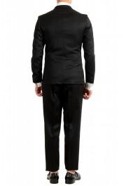 "Hugo Boss Men's ""Nielsen/Oliwer_1"" Black 100% Wool Double Breasted Tuxedo Suit: Picture 3"