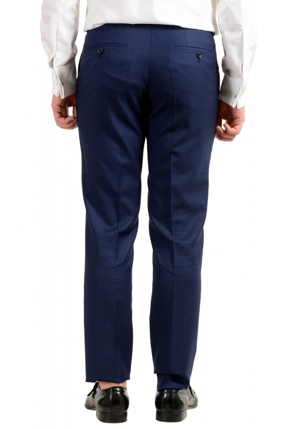 "Hugo Boss Men's ""Novan5/Ben2"" Slim Fit 100% Wool Blue Two Button Suit: Picture 10"
