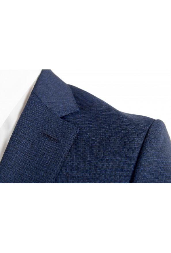 "Hugo Boss Men's ""Novan5/Ben2"" Slim Fit 100% Wool Blue Two Button Suit: Picture 7"