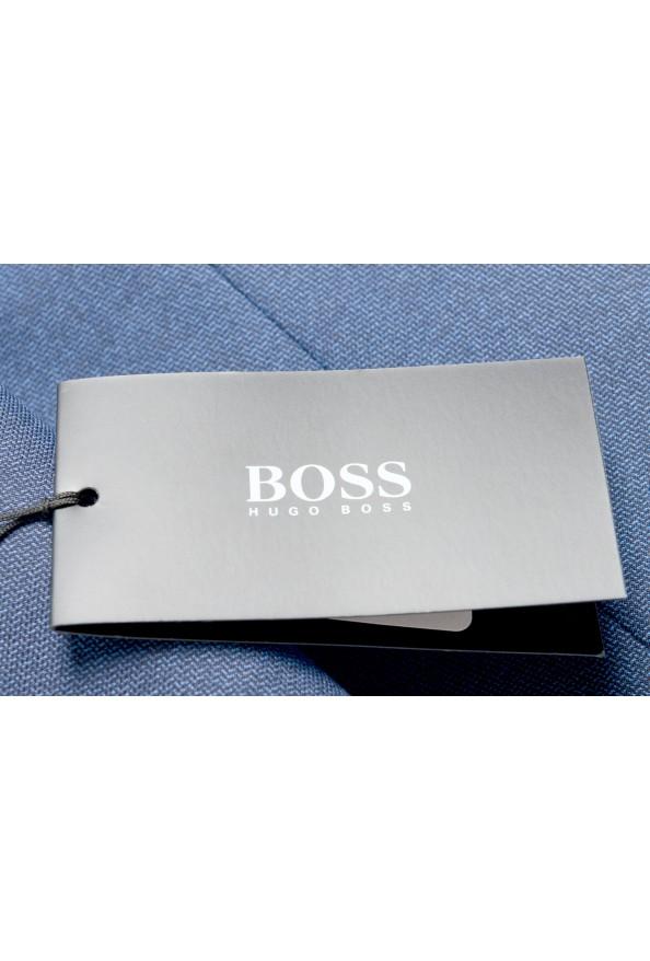"Hugo Boss Men's ""Novan5/Ben2"" Slim Fit 100% Wool Blue Two Button Suit: Picture 2"