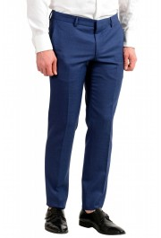 "Hugo Boss Men's ""Novan5/Ben2"" Slim Fit 100% Wool Blue Two Button Suit: Picture 12"
