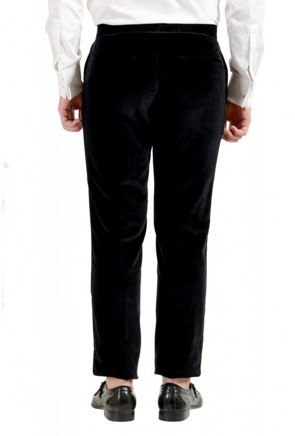 "Hugo Boss Men's ""Henrey1/Glow1"" Slim Fit Black Velour Tuxedo Suit: Picture 10"