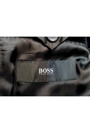 "Hugo Boss Men's ""Henrey1/Glow1"" Slim Fit Black Velour Tuxedo Suit: Picture 12"