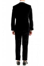 "Hugo Boss Men's ""Henrey1/Glow1"" Slim Fit Black Velour Tuxedo Suit: Picture 3"