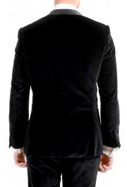 "Hugo Boss Men's ""Henrey1/Glow1"" Slim Fit Black Velour Tuxedo Suit: Picture 6"