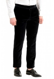 "Hugo Boss Men's ""Henrey1/Glow1"" Slim Fit Black Velour Tuxedo Suit: Picture 9"