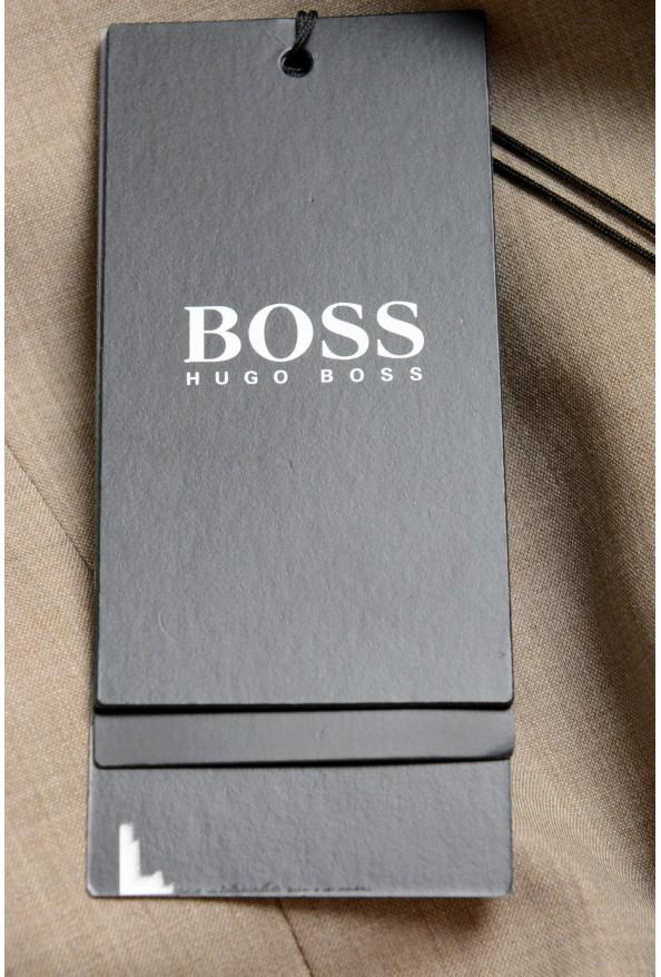"""Hugo Boss Men's """"Huge6/Genius5"""" Slim Fit 100% Wool Beige Two Button Suit: Picture 11"""