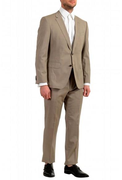 """Hugo Boss Men's """"Huge6/Genius5"""" Slim Fit 100% Wool Beige Two Button Suit: Picture 2"""