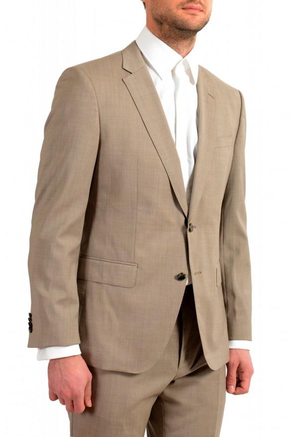 """Hugo Boss Men's """"Huge6/Genius5"""" Slim Fit 100% Wool Beige Two Button Suit: Picture 5"""