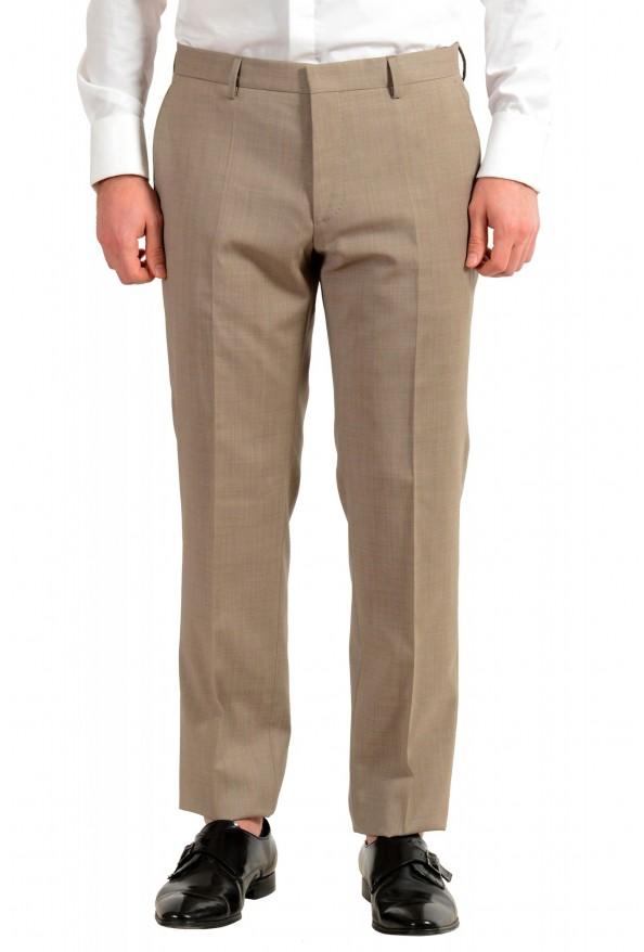 """Hugo Boss Men's """"Huge6/Genius5"""" Slim Fit 100% Wool Beige Two Button Suit: Picture 8"""