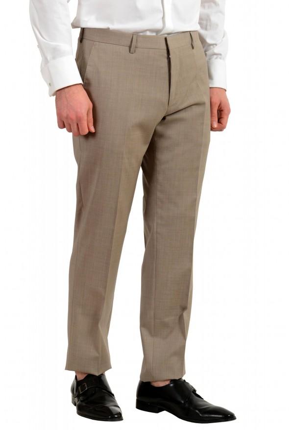 """Hugo Boss Men's """"Huge6/Genius5"""" Slim Fit 100% Wool Beige Two Button Suit: Picture 9"""