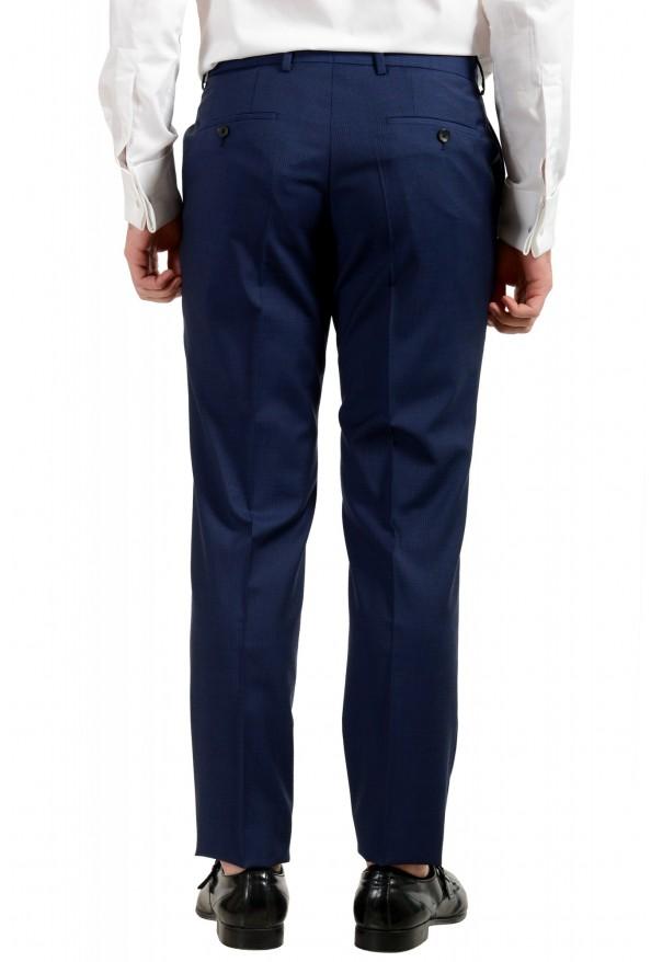 "Hugo Boss Men's ""Huge6/Genius5"" Blue Slim Fit 100% Wool Striped Two Button Suit: Picture 10"