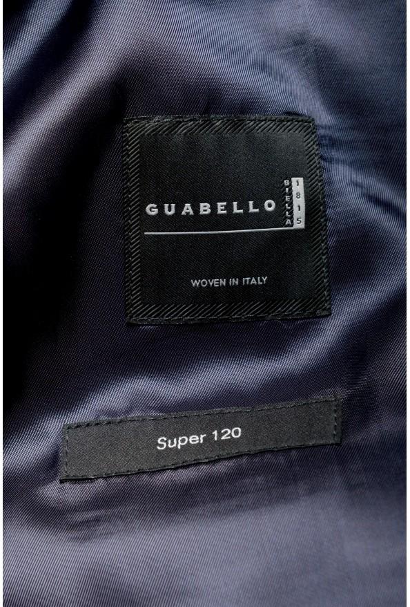 "Hugo Boss Men's ""Huge6/Genius5"" Blue Slim Fit 100% Wool Striped Two Button Suit: Picture 13"