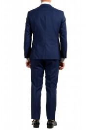 "Hugo Boss Men's ""Huge6/Genius5"" Blue Slim Fit 100% Wool Striped Two Button Suit: Picture 3"