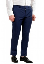 "Hugo Boss Men's ""Huge6/Genius5"" Blue Slim Fit 100% Wool Striped Two Button Suit: Picture 9"