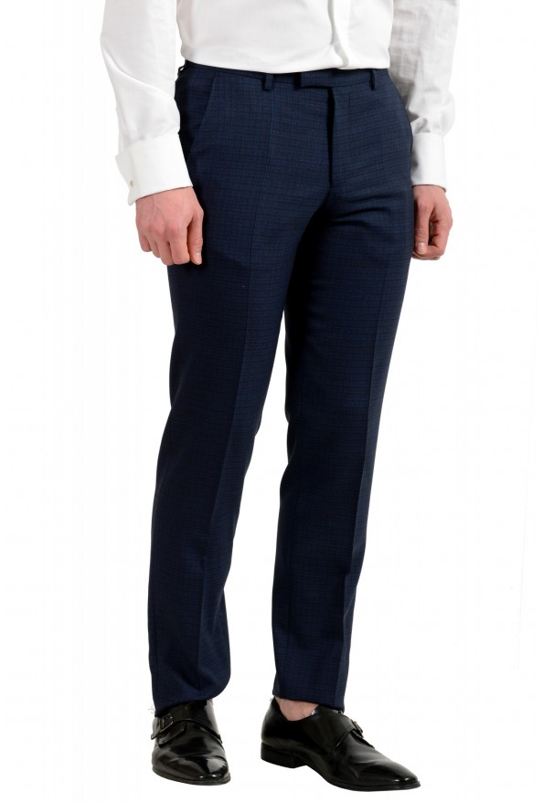 "Hugo Boss Men's ""Johnstons5/Lenon1"" Regular Fit 100% Wool Two Button Suit: Picture 9"