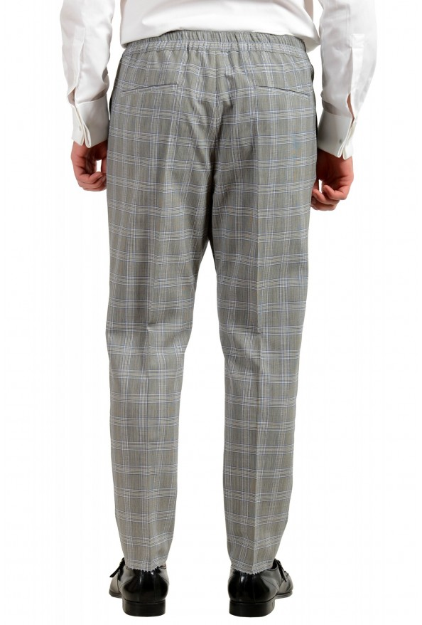"""Hugo Boss Men's """"Ilan/Farlys192F1"""" 100% Wool Plaid Double Breasted Suit: Picture 10"""
