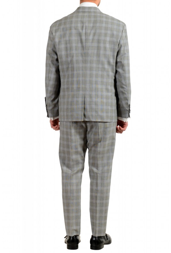 """Hugo Boss Men's """"Ilan/Farlys192F1"""" 100% Wool Plaid Double Breasted Suit: Picture 3"""
