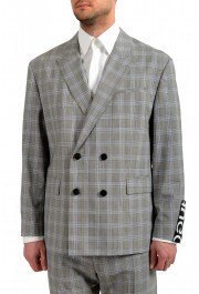 """Hugo Boss Men's """"Ilan/Farlys192F1"""" 100% Wool Plaid Double Breasted Suit: Picture 4"""