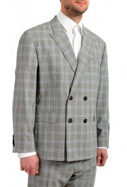 """Hugo Boss Men's """"Ilan/Farlys192F1"""" 100% Wool Plaid Double Breasted Suit: Picture 5"""