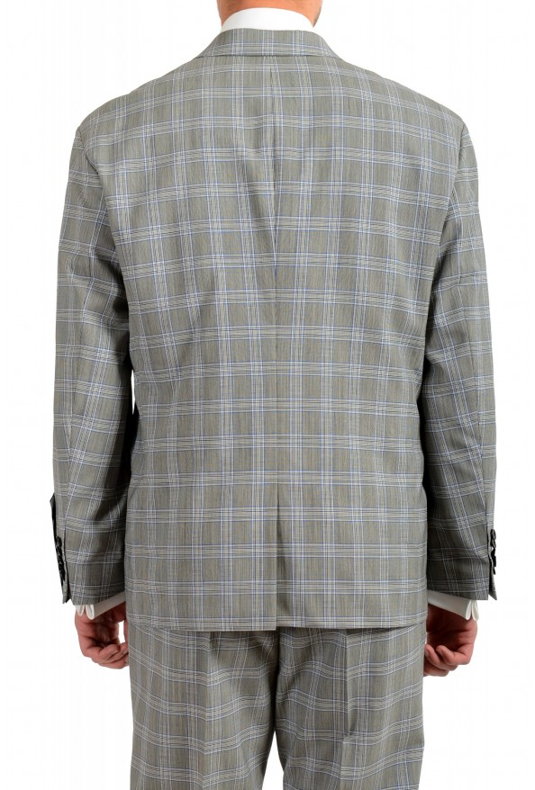 """Hugo Boss Men's """"Ilan/Farlys192F1"""" 100% Wool Plaid Double Breasted Suit: Picture 6"""